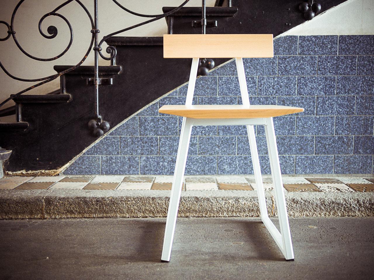 Stuhl, Ansicht von vorne