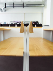 Sushi Sano Detailansicht Möbel Bank