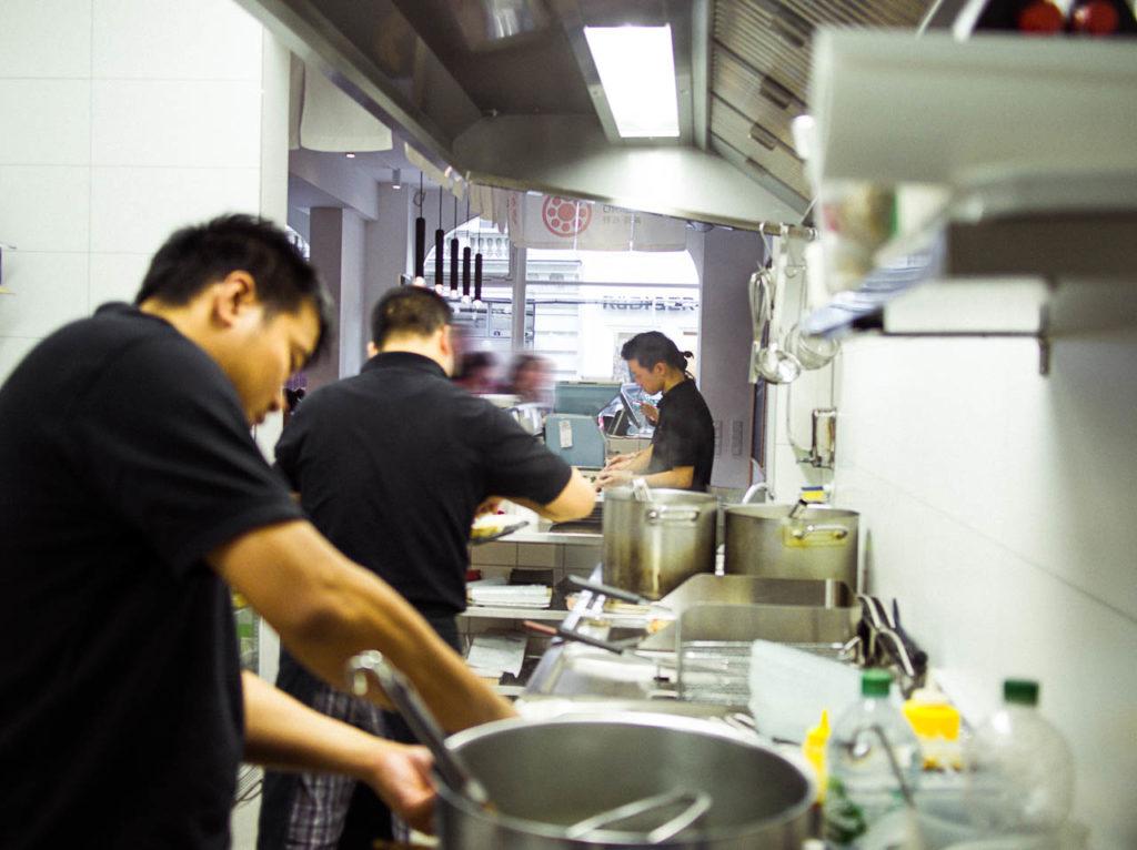 Sushi Sano Küche