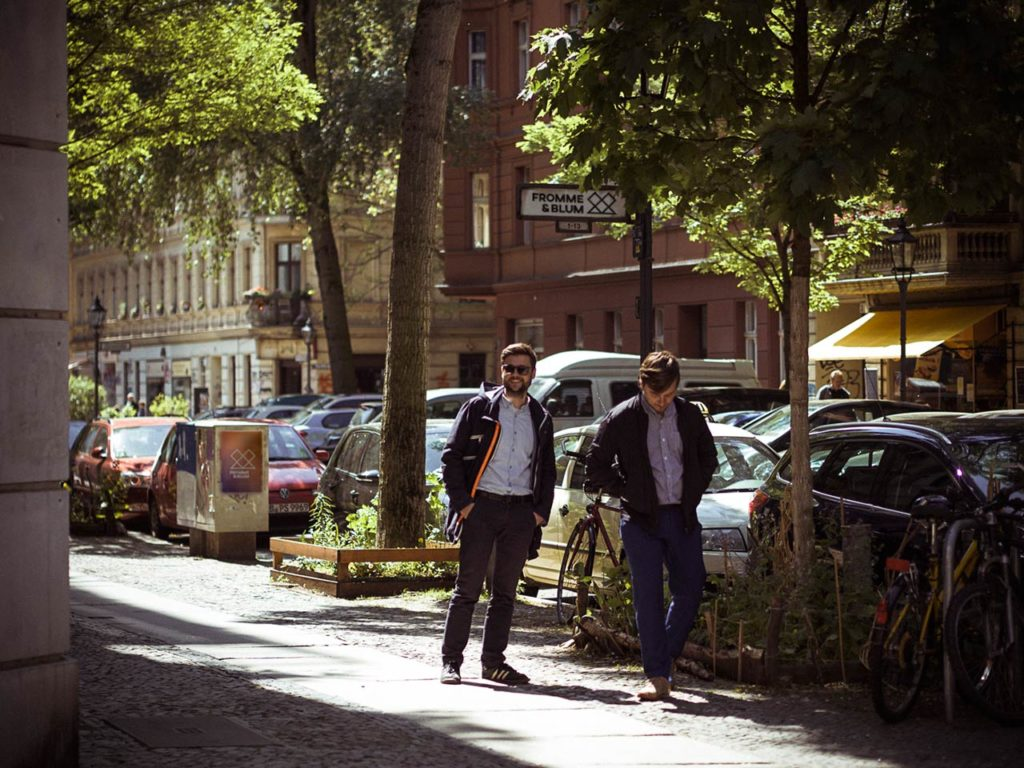 Studio Fromme & Blum, walking around in Berlin