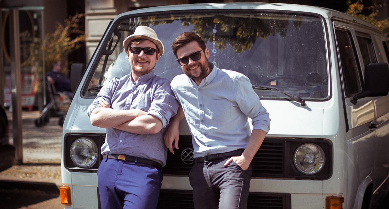 Studio Fromme & Blum sind Ricky & Jo in Berlin und München