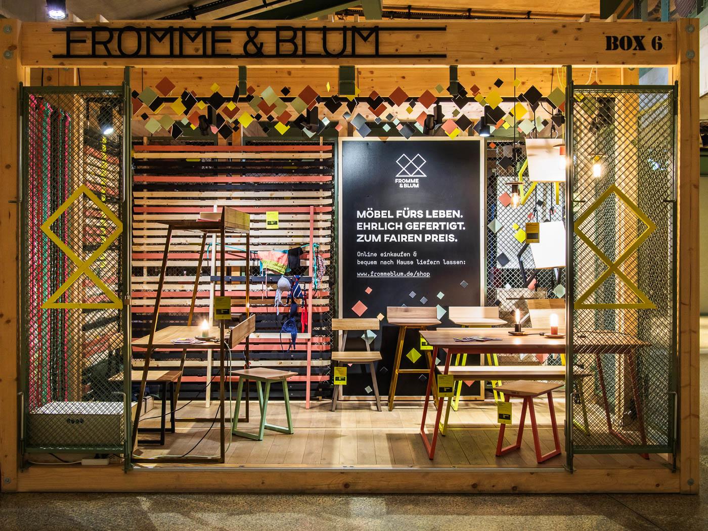 Fromme & Blum Pop-Up-Store, Bikini Berlin