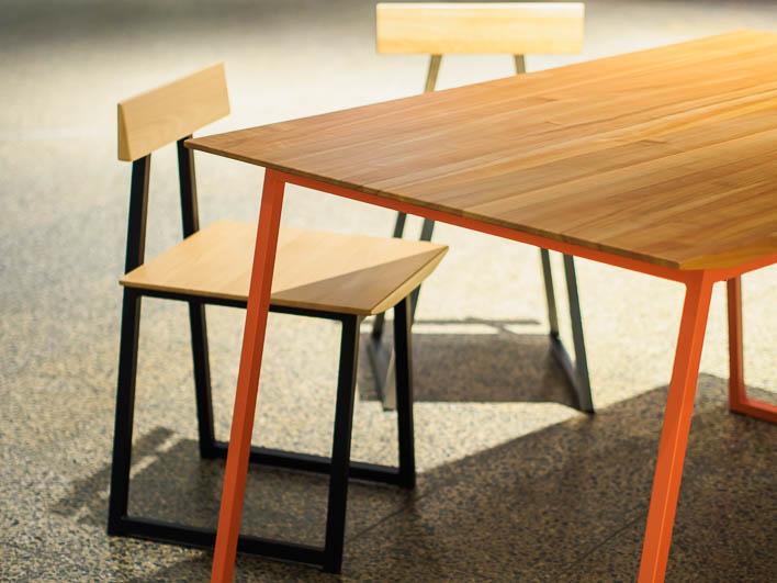 Esstisch Design aus Kirsche, Massivholz, gefertigt in Deutschland