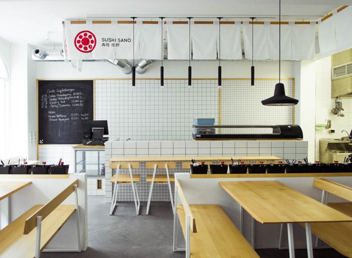 Interior Design für Sushi Sano in München